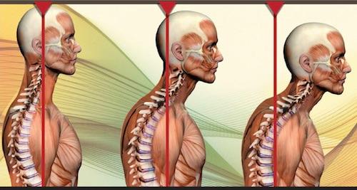 postura testa ansia stress