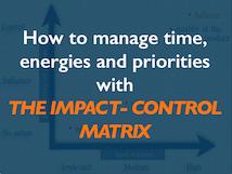 manage time priorities energies