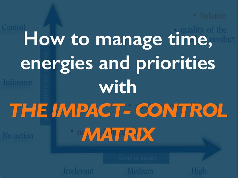 time energy management technique