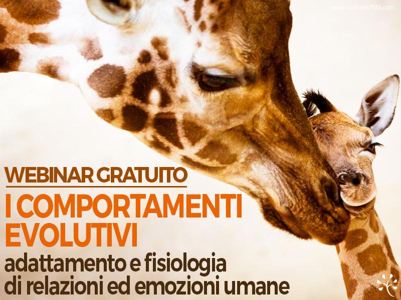 seminario comportamenti evolutivi psicologia