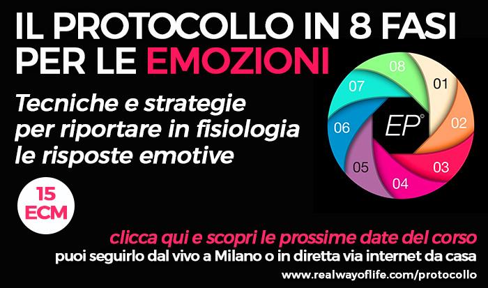 Corso Protocollo in 8 fasi per le emozioni