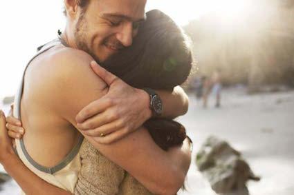 abbraccio, ossitocina