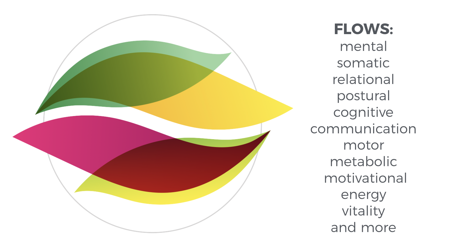 flows: mental emotional postural
